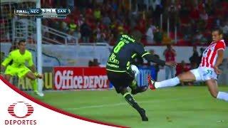 Resumen Necaxa 2 - 1 Santos | Jornada 8 - Apertura 2016 | Televisa Deportes