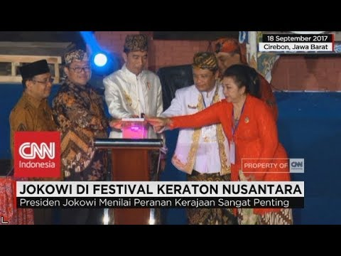 Presiden Jokowi Bertemu Para Raja & Sultan se-Nusantara di Cirebon