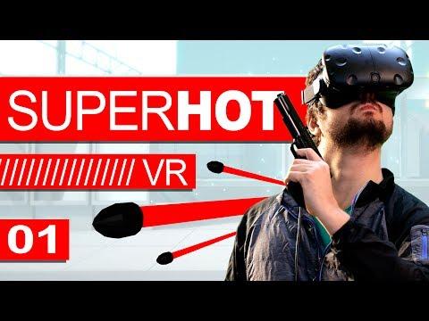 ASSASSINO DO AEROPORTO! - SUPER HOT VR (Ep. 01)