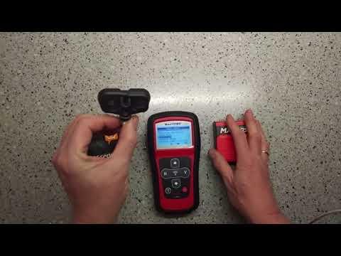 Диагностика датчиков давления в шинах TPMS