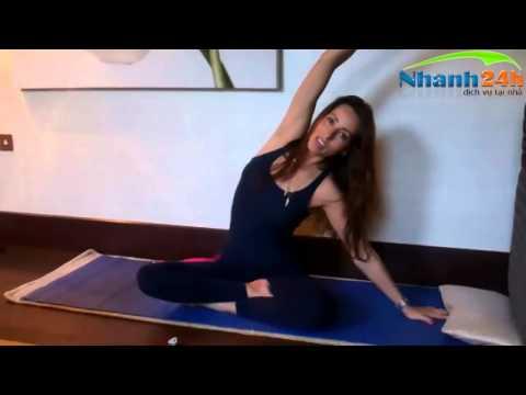 Hướng dẫn tập Yoga ,bài tập để có vòng eo khỏe đẹp