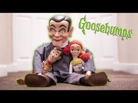 Night Of The Living Dummy: Slappy Torments Toy Story's Woody & Jessie   Goosebumps Adventures