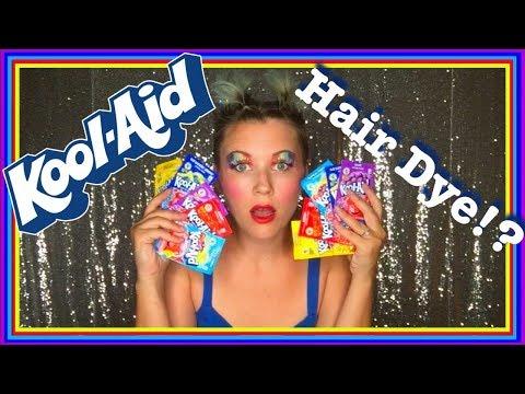 Kool-Aid Hair Dye!?