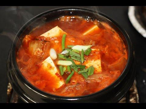 how to make kimchi jjigae mild