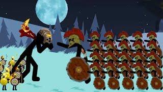 Скачать Summon Griffon VS Spearton Zombie Army Stick War Legacy Endless Deads Night 21 29