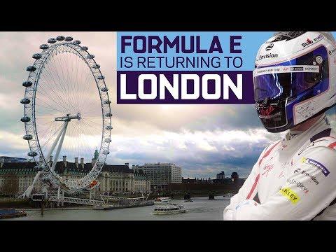 Formula E Announces World-First Indoor-Outdoor London Race! | ABB FIA Formula E Championship