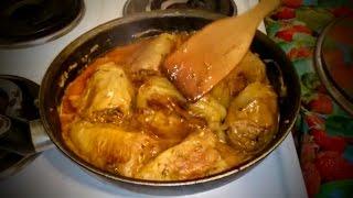 Фаршированный перец Рецепт как приготовить блюдо вкусно на ужин домашние классический быстро видео(Фаршированный перец. ВКУСНЫЙ ПРОСТОЙ РЕЦЕПТ блюда жареный болгарский перец фаршированный мясом, рисом..., 2015-04-24T17:33:40.000Z)