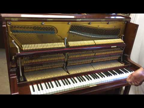 Karl Lange Upright Piano