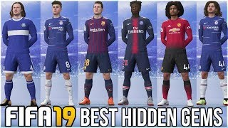 FIFA 19 CAREER MODE BEST U21 HIDDEN GEMS!!!