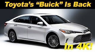 2016 Toyota Avalon Hybrid Review and Road Test - DETAILED in 4K UHD!