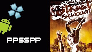 NBA Street Showdown PSP on Android [PPSSPP 0.9.8 Emulator]