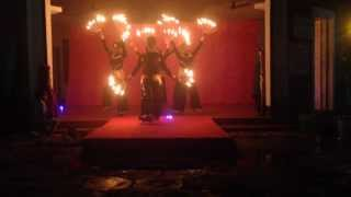 Jiya Jale... Fire & light, contemporary dance performance