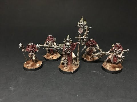 Showcase teaser - Cawdor Necromunda gang.