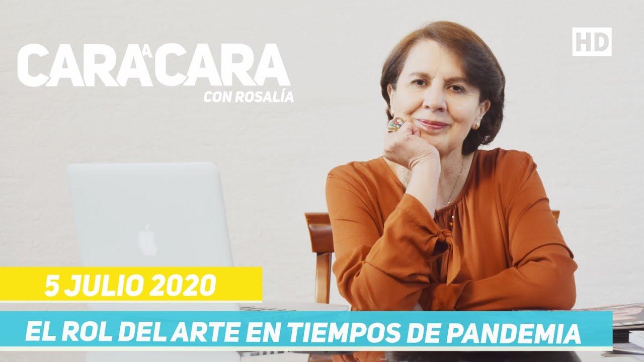 Cara a Cara con Rosalía - Arte en Tiempos de Pandemia - 5 Julio 2020
