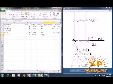 Quantity surveyor Urdu Tutorials
