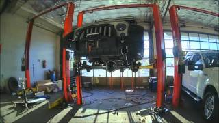 "Teraflex 3"" Elite LCG Suspension System Install Time Lapse"
