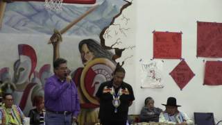 KD Edwards Gourd Dance & PowWow - Boye Ladd & Ramon Yazzie Invocation