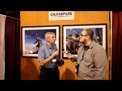 First Look at Olympus E5 DSLR Camera