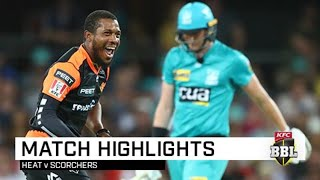 Perth scorch the Heat to claim second win of the season | KFC BBL|09