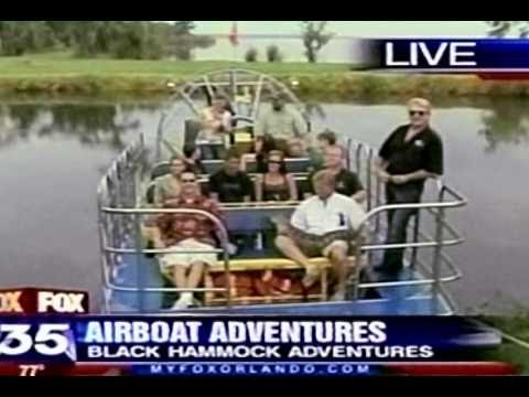 Black Hammock Adventure Airboat Ride