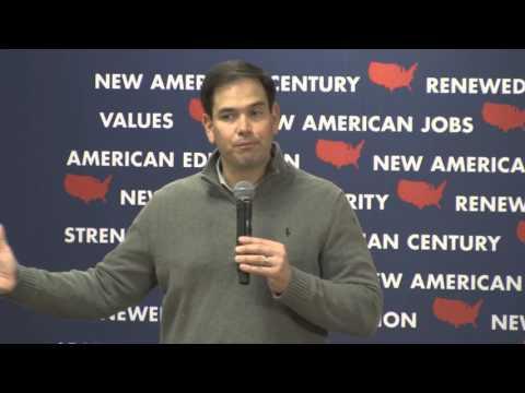 Senator Marco Rubio Town Hall Meeting
