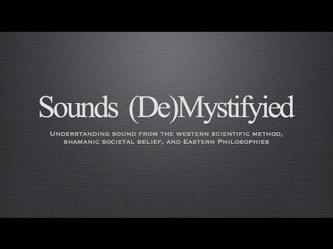 Alexandre Tannous - Sounds (De)Mystifyied Presentation at Th