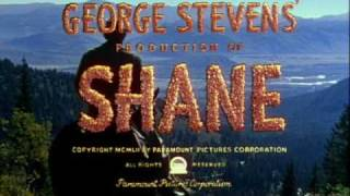 Shane (1953) - Selections - Victor Young