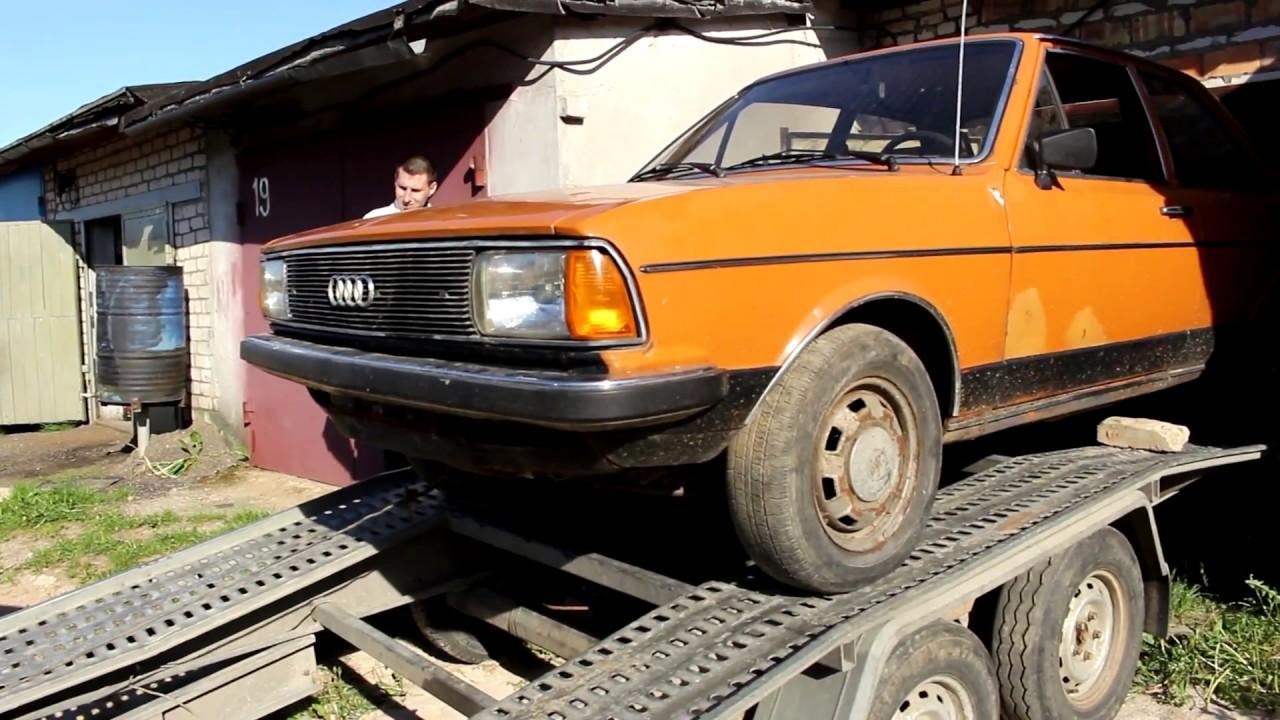 Ауди 80 B1 1977г. Часть 1 - YouTube