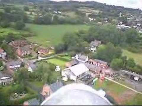 Model Aircraft on board video over Kelsall