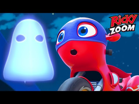 Ricky Zoom 🎃 Halloween-Special: Chasing The Ghost Bike 🎃 Cartoons For Kids | Nick Jr.