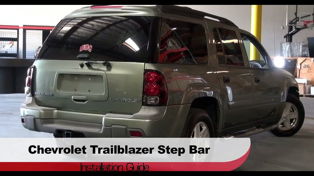 Spyder Auto Installation: 2002-09 Chevy Trailblazer/GMC Envoy/Buick Rainier/Isuzu Ascender Step ...