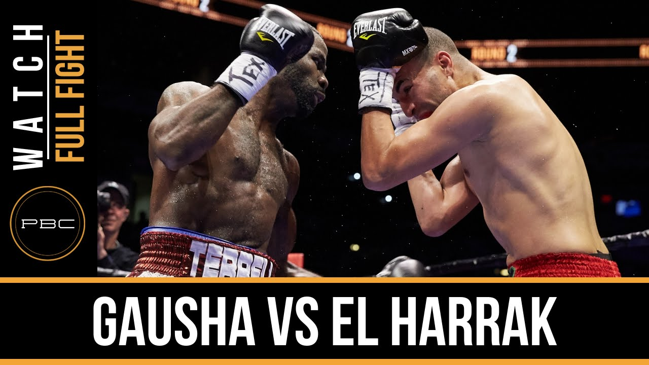 Gausha vs El Harrak FULL FIGHT: Dec. 12, 2015 - PBC on NBCSN