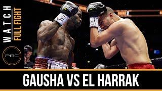 Gausha vs El Harrak FULL FIGHT: Dec. 12, 2015 - PBC on NBCSN