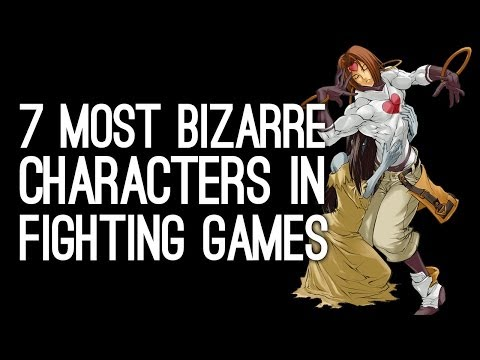 The 7 Most Bizarre Fighting Game Characters (Who Are Ready for Prime Time)