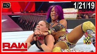 WWE Monday Night RAW 1/21/2019 Full Show Review Highlights Call-in