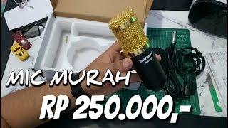 mic murah taffware bm 800 review audio test gurih unboxing