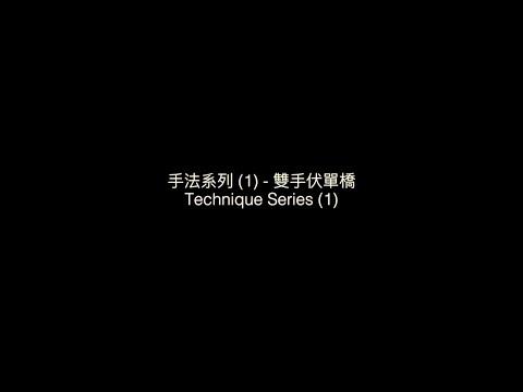 PVT - 詠春手法系列 (1) - 雙手伏單橋