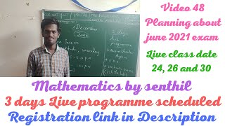 45. FREE LIVE CLASSES FOR CSIR NET | MATHEMATICS BY SENTHIL | UNACADEMY