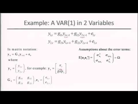 Module 5: Session 2: Estimation Of Vector AutoRegreSsion (VAR)