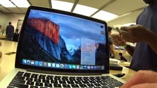 128gb Thumb Drive too small, upgrade 2TB G-Drive external hard drive at Apple Store
