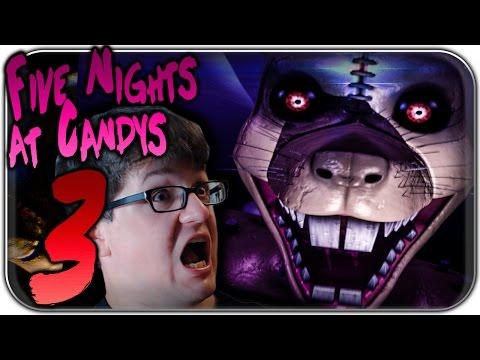 CINDY UND CANDY SIND ZURÜCK | Five Nights at Candys 3 Let's Play | Deutsch German