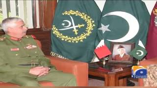 Bahrain's Commander Of National Guard Calls On COAS - 19 March 2019