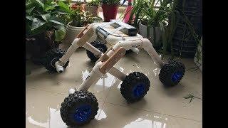 Rocker bogie Robot