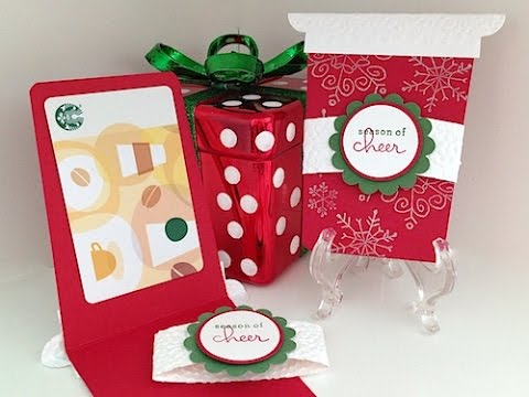 Simply Simple Starbucks Gift Card Holder By Connie Stewart