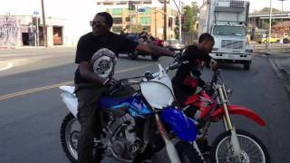 Meek Mill and Lil Chino