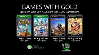 Games with Gold - August 2020 Official Trailer