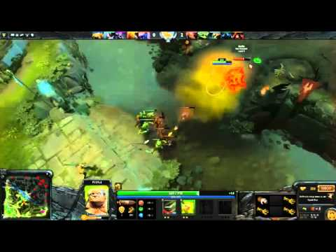 Dendi Pudge Playing RMM Dota 2 With Skype NaVi