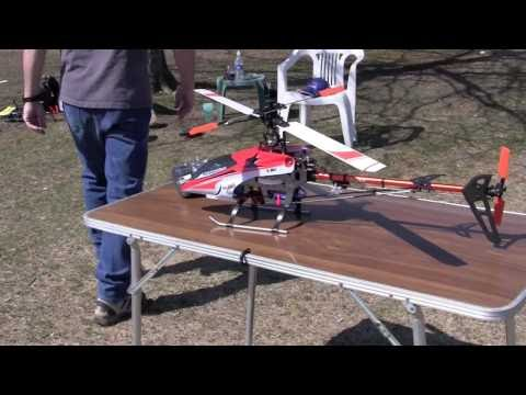 Fatdaddy's E-Sky 900 (500-size) Maiden Flight