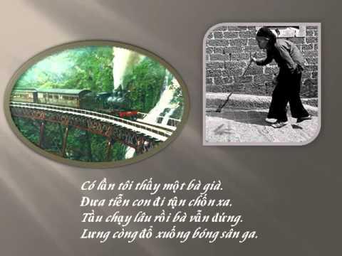 Bong Nguoi Tren San Ga  Tho Nguyen Binh  Ngam tho Hoang Oanh  PQB   YouTube