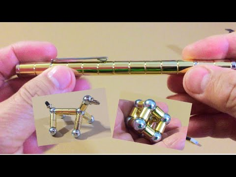 Pen made with Powerful Modular Magnets